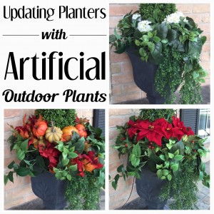 Enhance Curb Appeal with Seasonal Artificial Outdoor Plants