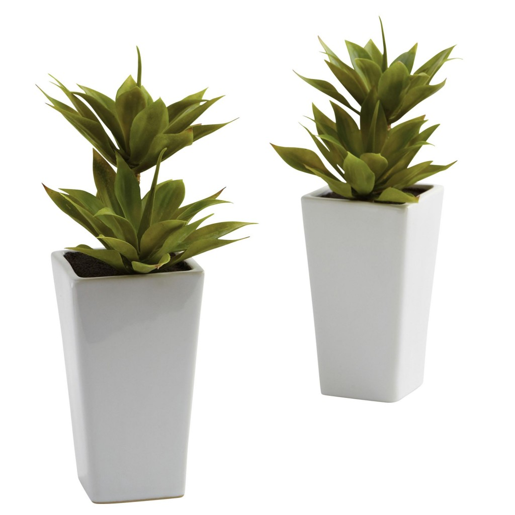 Artificial Double Mini Agave