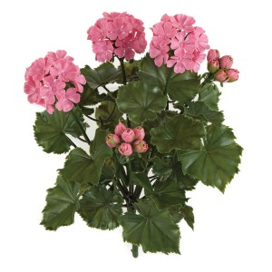 Artificial outdoor flowers