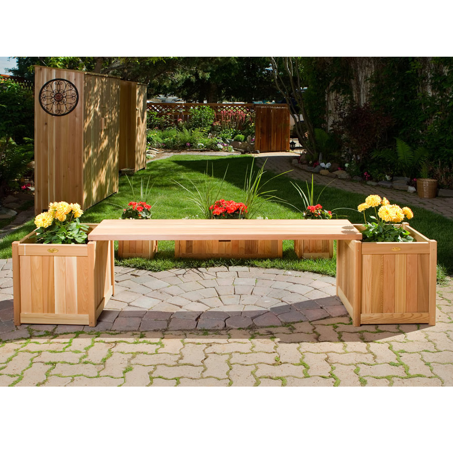 How To Fill This Garden Bench With Planter Boxes
