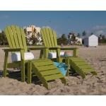 Green South Beach Chairs