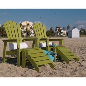 Celebrate St. Patty's with Green Outdoor Furniture & Accessories