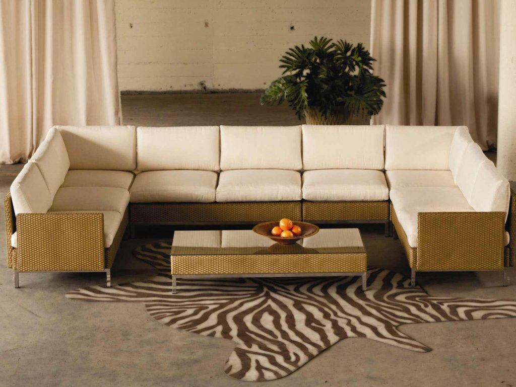Lloyd Flanders Sectional Sofa