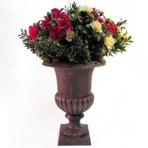 DIY Artificial Flower Urn Arrangements: 1 Urn 3 Looks