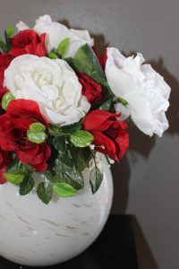 Creating A Rose Floral Arrangement For Valentine's Day