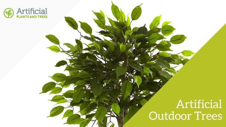 artificial outdoor trees