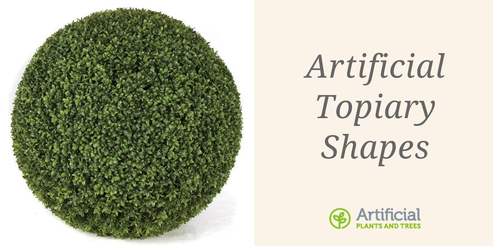 artificial topiary shapes