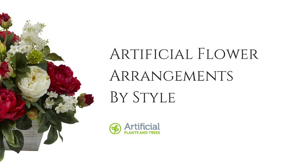 artificial flower styles