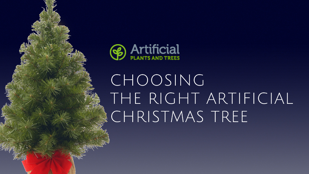 artificial christmas trees 2