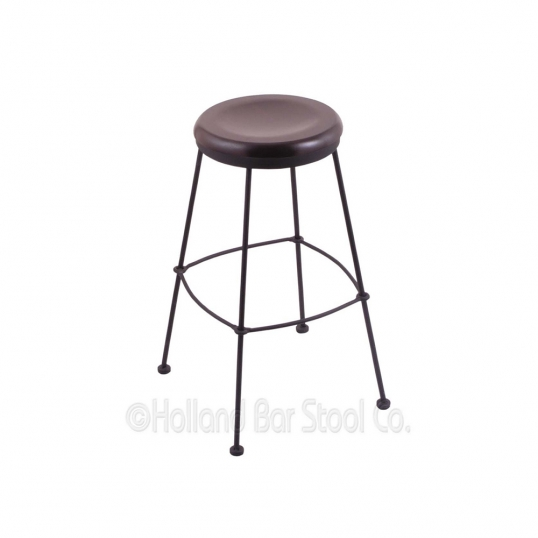 Holland Bar Stool Co 25 Inch Black Swivel Counter Stools With