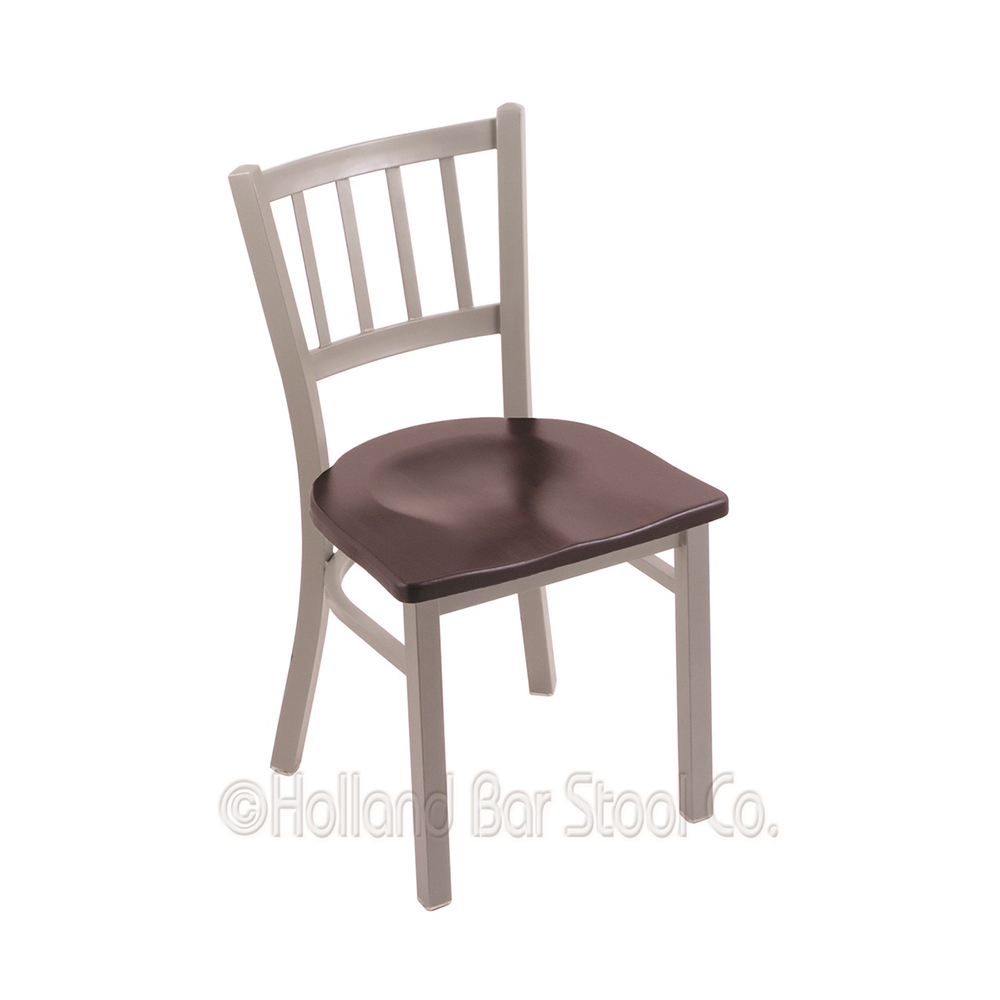 18 Inch 610 Contessa Dining Chair With Wood Seat