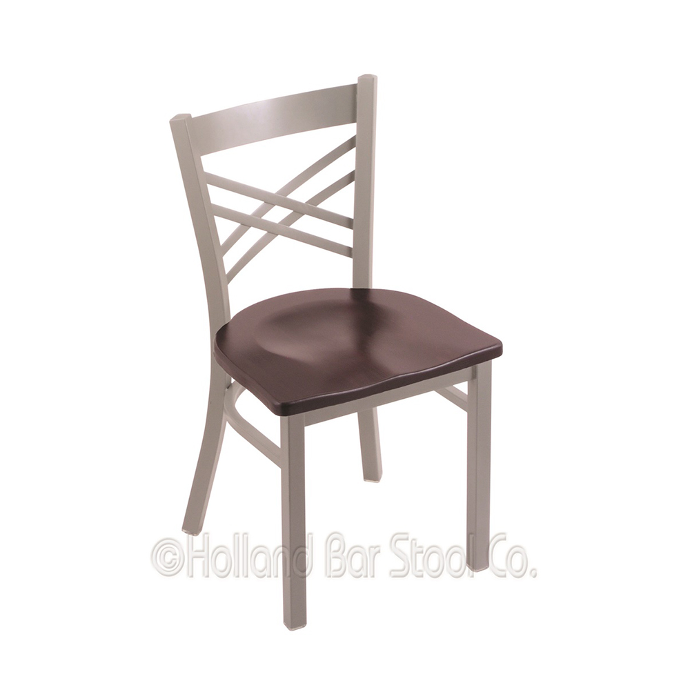 18 Inch 620 Catalina Dining Chair With Wood Seat
