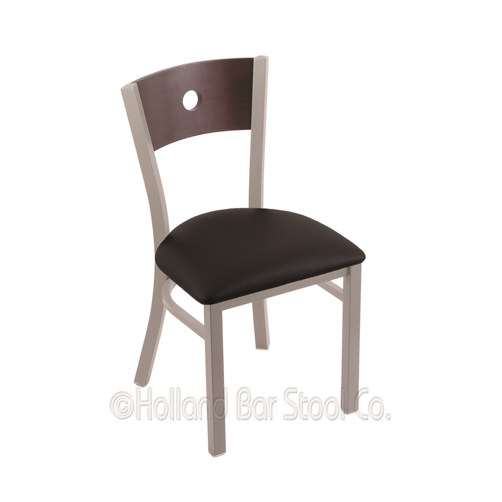 18 Inch 630 Voltaire Dining Chair With Cushion Seat