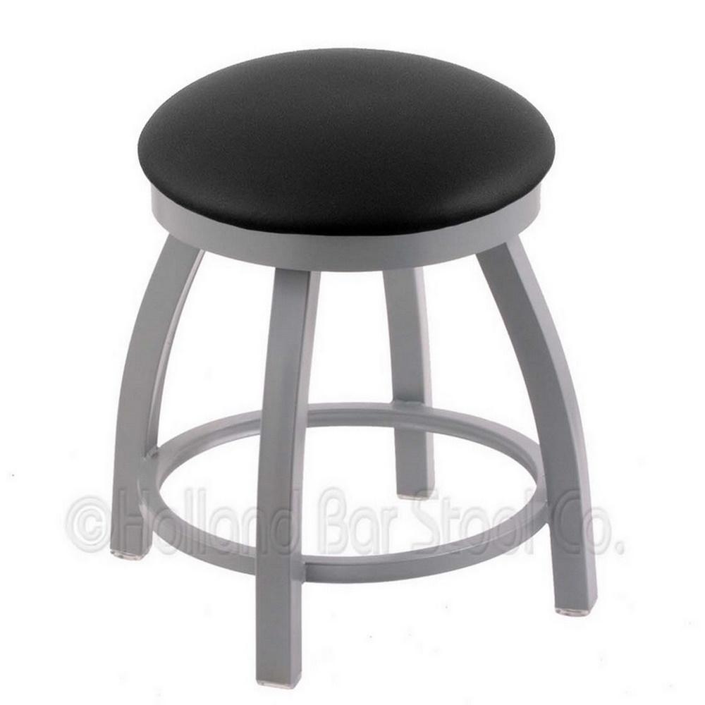 18 Inch 802 Misha Swivel Vanity Stool W/cushion Seat