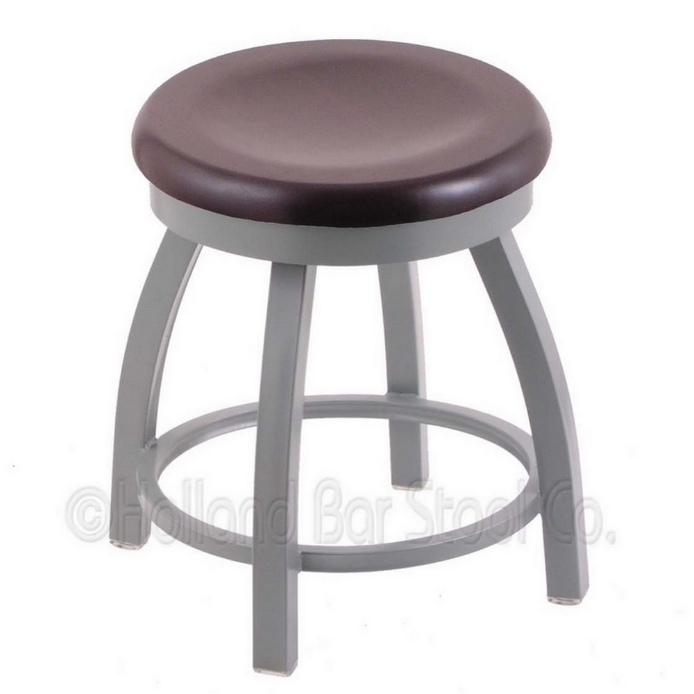Holland Bar Stool 18 Inch 802 Misha Swivel Vanity Stool With Wood Seat ...