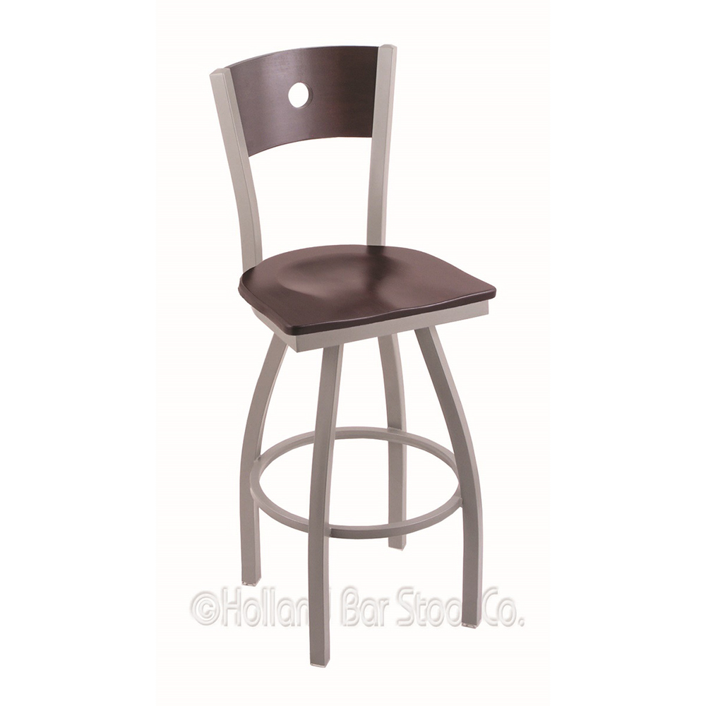 Swivel | Stool | Seat | Wood | Bar