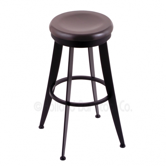 Holland Bar Stool Co 25 Inch Laser Swivel Counter Stool With Wood