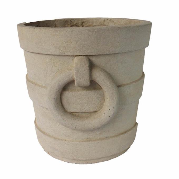 Select Aztec-Round-Medium-Cast-Limestone-Planter Product Picture 739