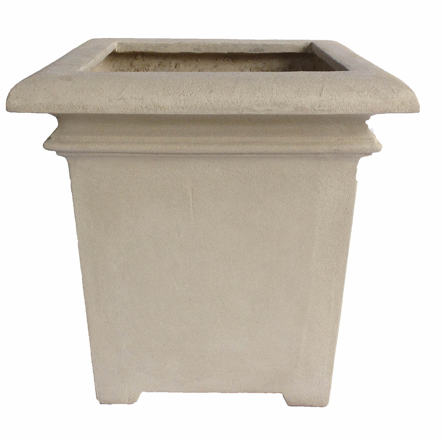 Best-selling Palace Square Cast Limestone Planter 10 2245