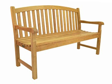 furniture anderson teak classic 2 seater bench by anderson furniture