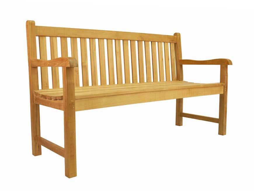 Teak Classic 3-seater Bench