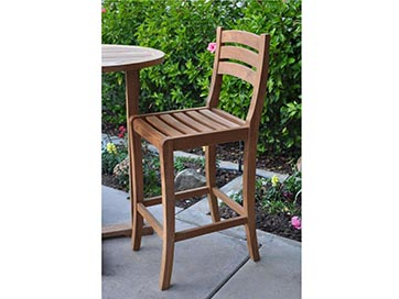 Anderson Teak Mandalay Bar Chair By Anderson Furniture Best Patio Furniture Pots