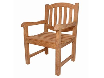 Anderson Teak Kingston Dining Arm Chair By Anderson