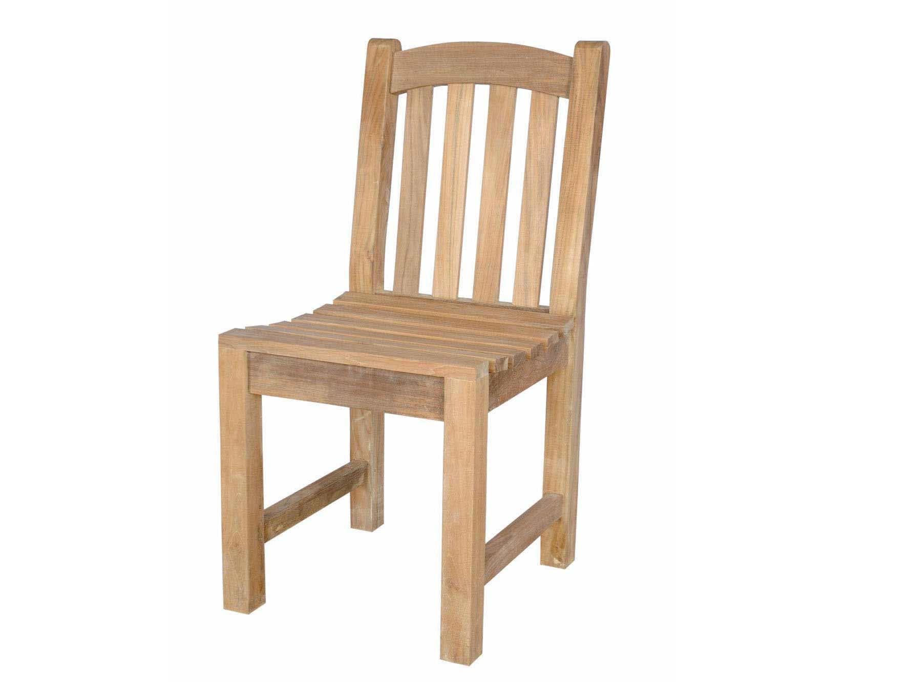 Teak Chelsea Dining Side Chair