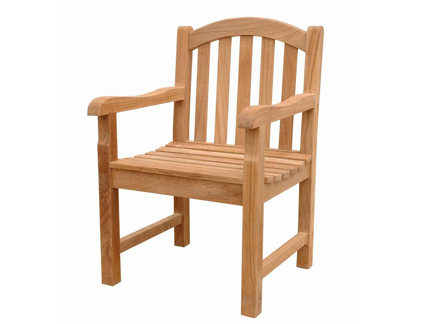 Unique Teak Chelsea Dining Arm Chair Product Photo
