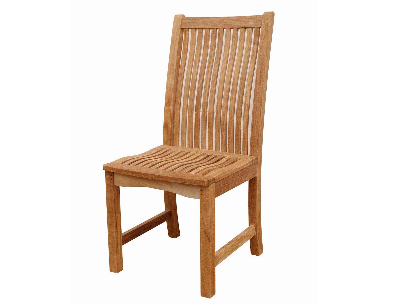 Teak Chicago Side Chair