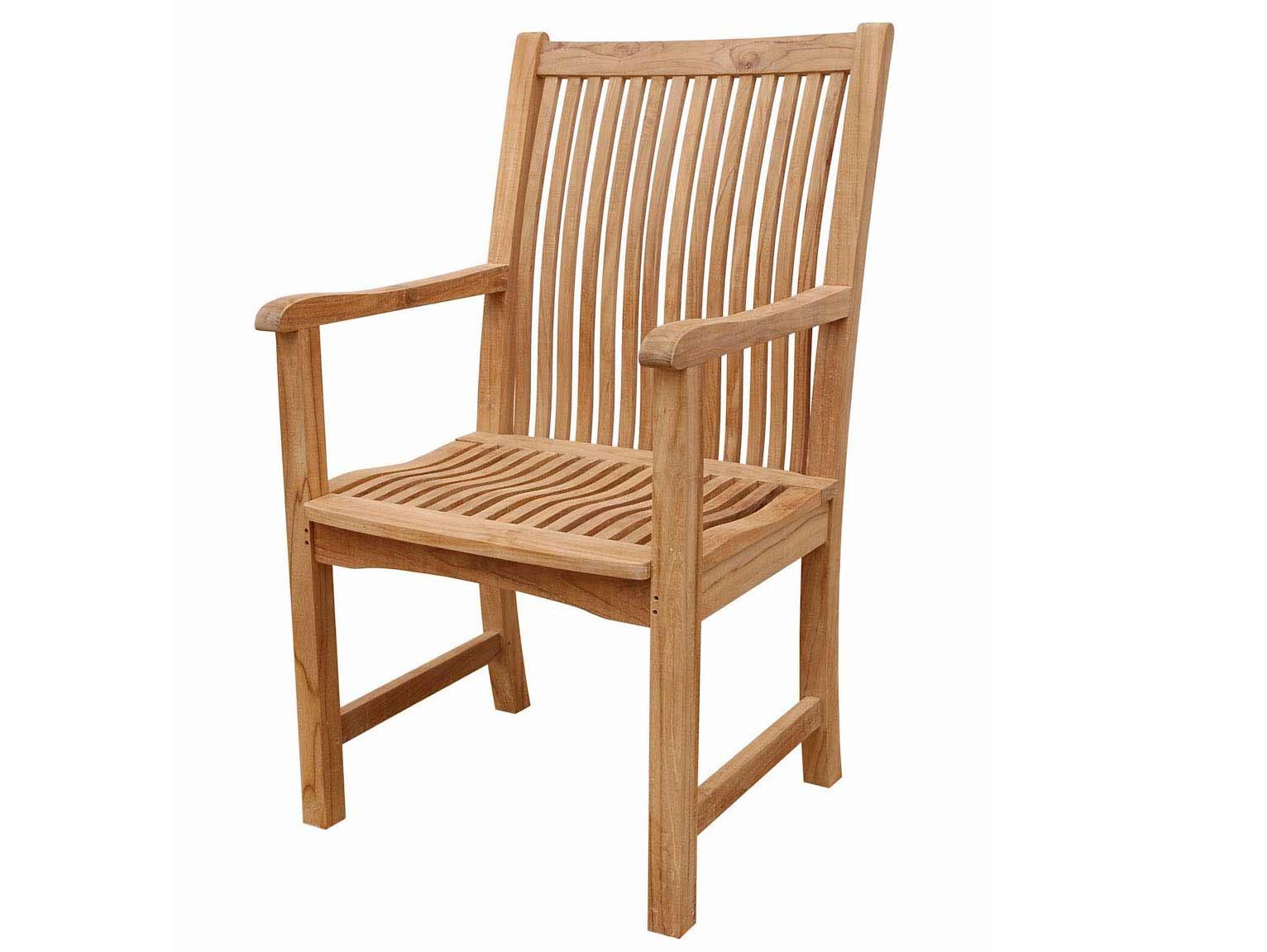 Teak Chicago Arm Chair