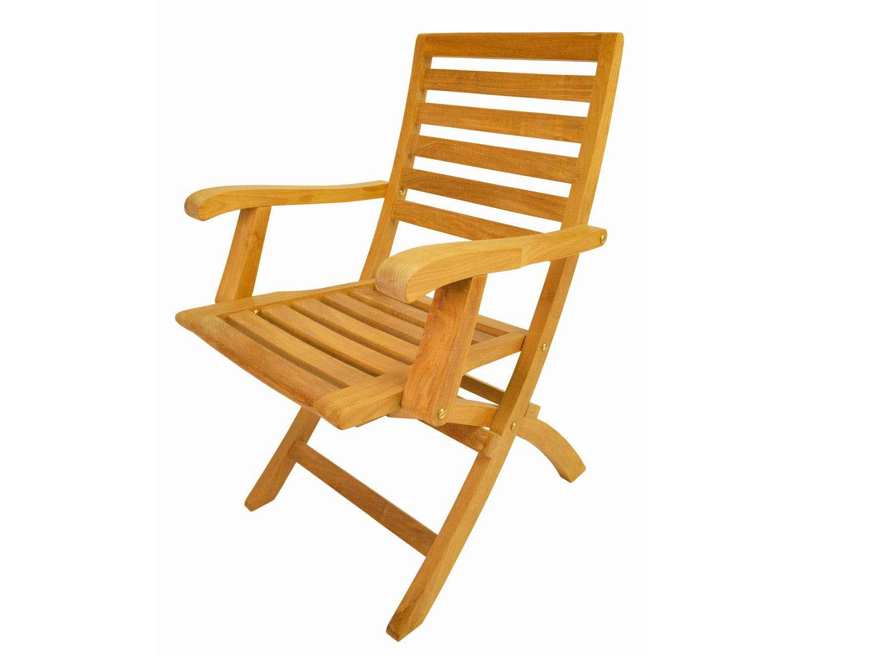 New Teak Andrew Folding Arm Chair  14 1778