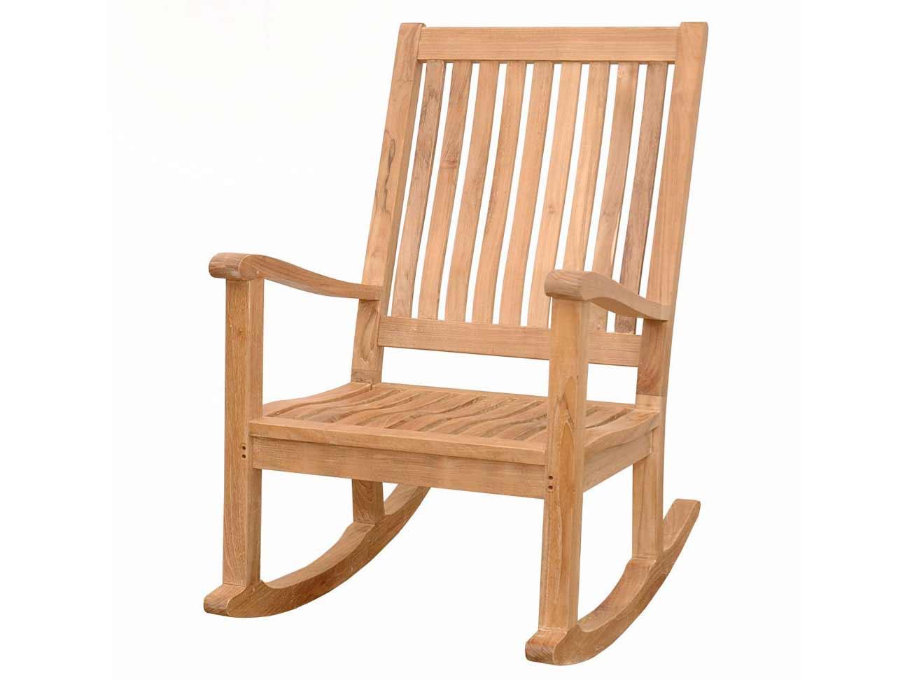 Teak Del Amo Rocking Arm Chair