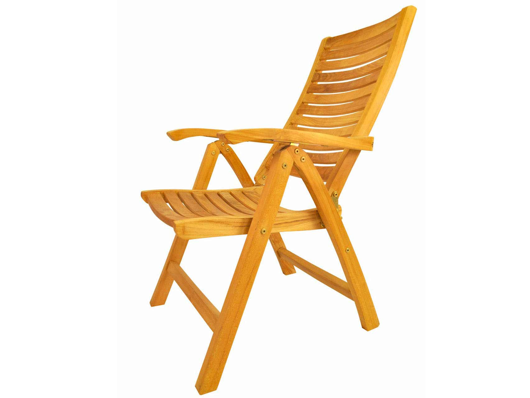 View Teak Carina Position Highback Recliner Product Photo