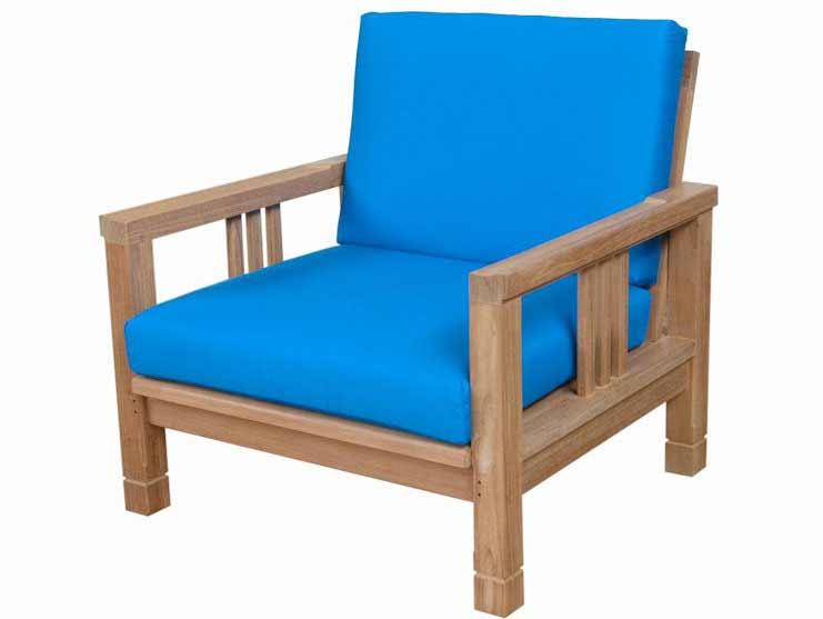 Impressive Teak South Bay Deep Seating Arm Chair 11 2324