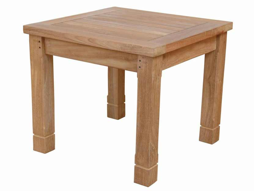 Magnificent Teak South Bay Square Side Table Product Photo