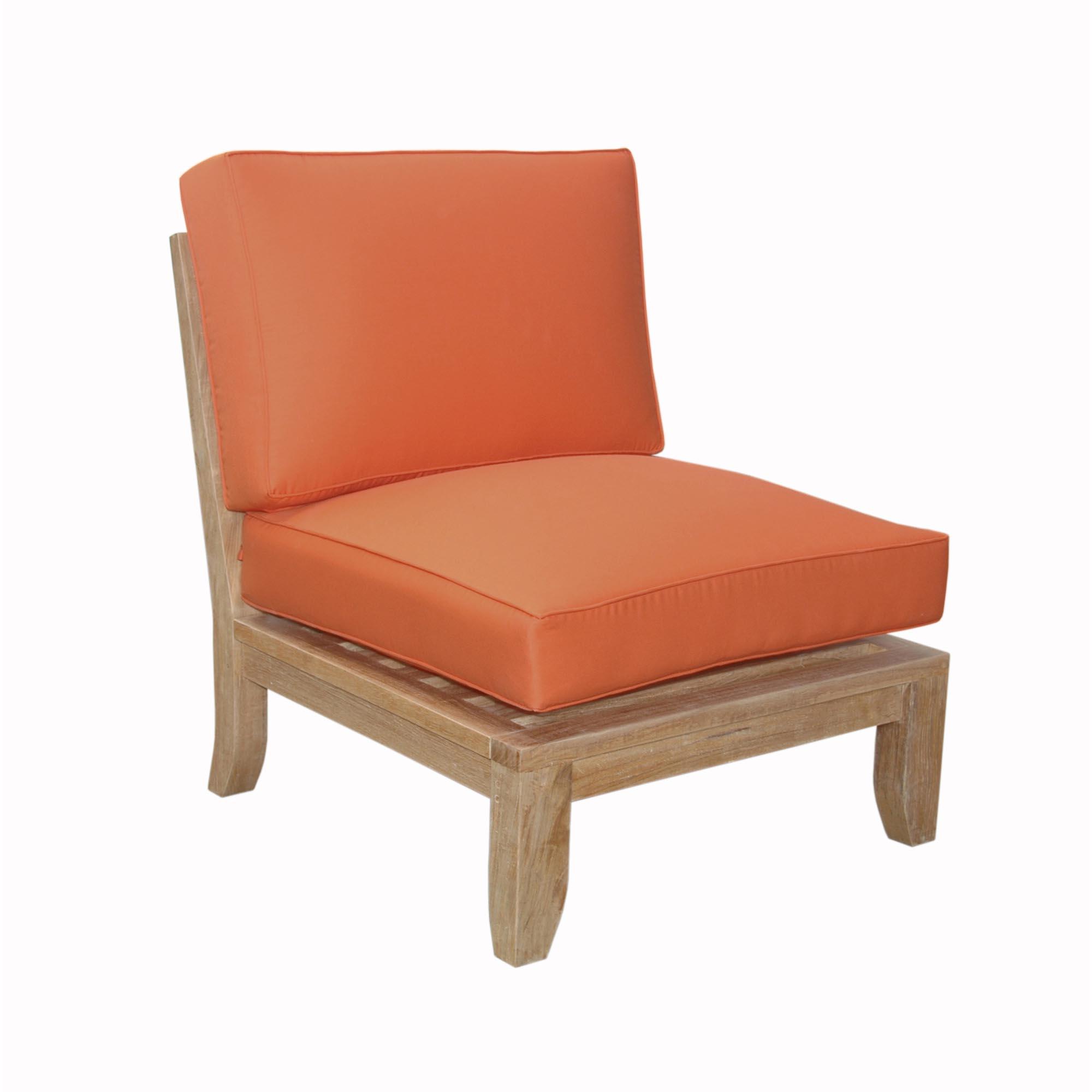 Splendid Teak Luxe Center Modular Sofa Product Photo