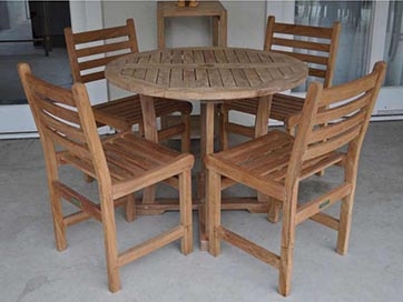 Anderson Teak Windham Dining Set By Anderson Furniture