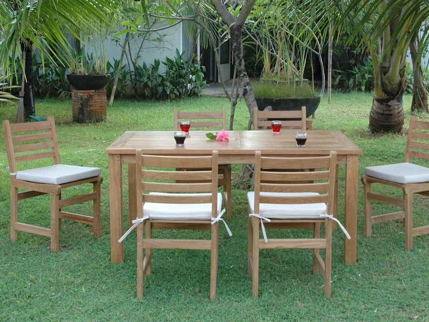 Buy Teak Montage Windham Dining Collection 12 2301