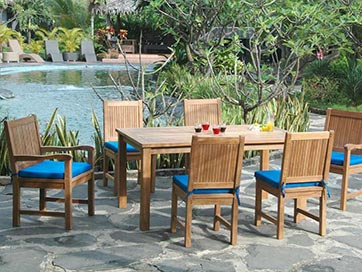 Anderson Teak Montage Chester Dining Collection