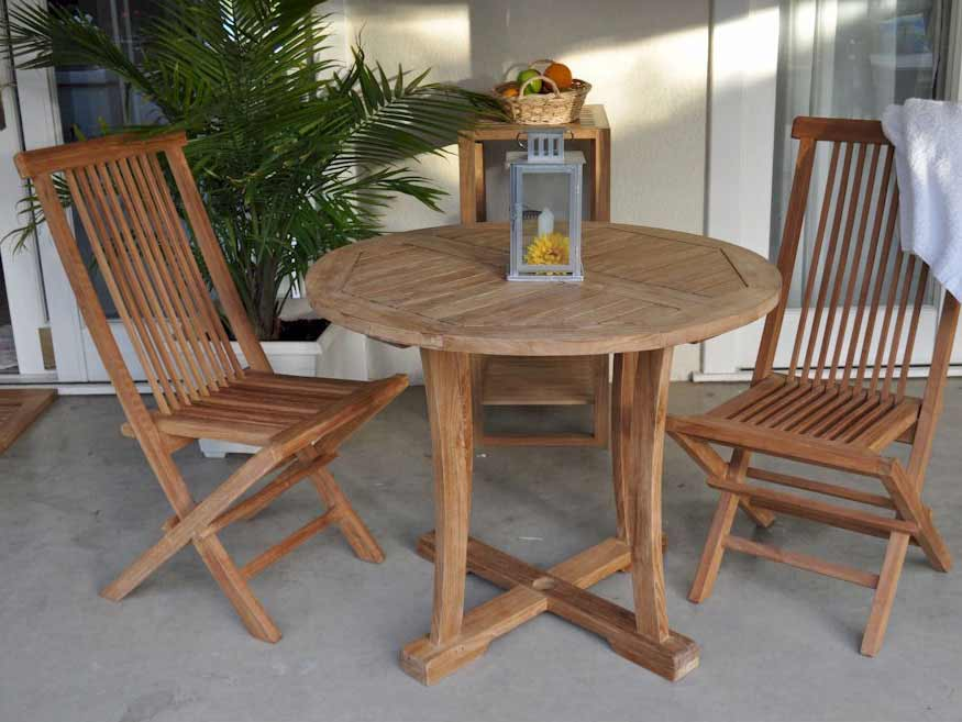 Choose Teak Bristol Curved Dining Set 2 2211