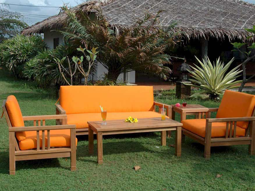 Purchase Teak South Bay Deep Seating Set Sofa Product Photo
