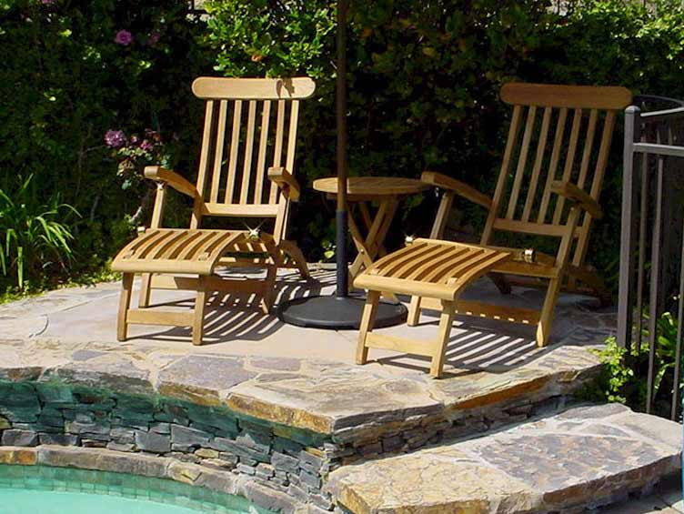 Learn more about Teak Royal Steamer Arm Chair Set 1 425