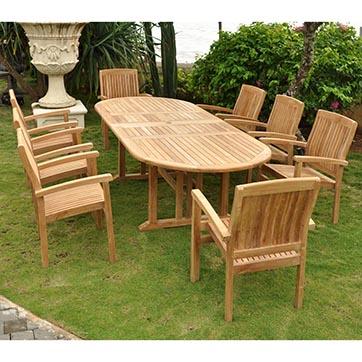 Anderson Teak Sahara Dining Set By Anderson Teak Best Patio Furniture Pots