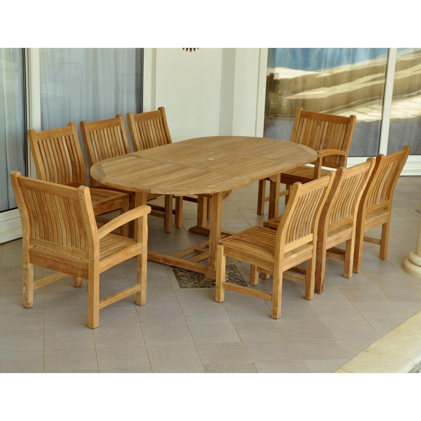 Select Teak-Bahama-Oval-Table-Sahara-Arm-Chairs-Side-Chairs Product Picture 6