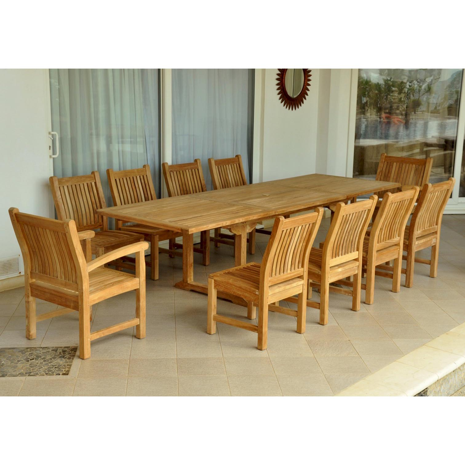 Purchase Teak Bahama Table Sahara Armchairs Side Chairs Product Photo