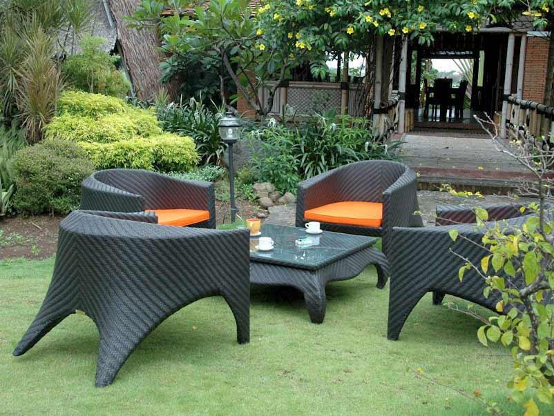Search Rattan Patio Montebello Deep Seating Set Product Photo