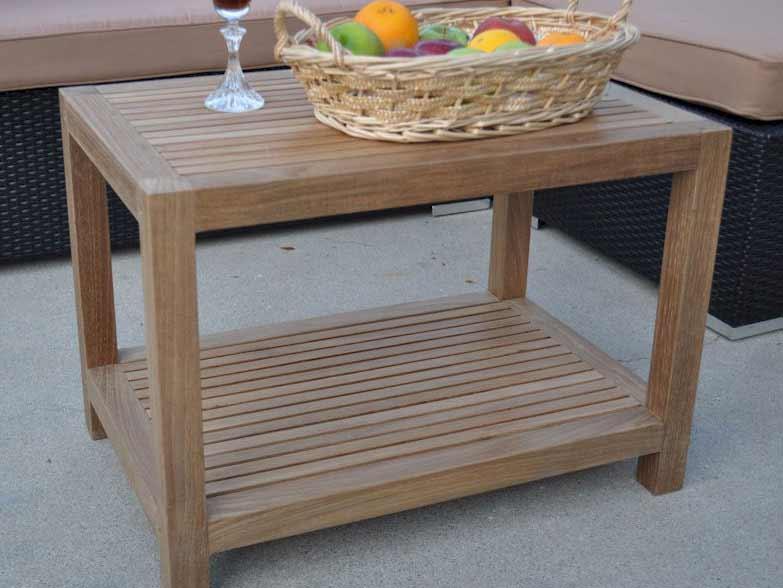 Buy Teak Windsor Tier Side Table Product Photo