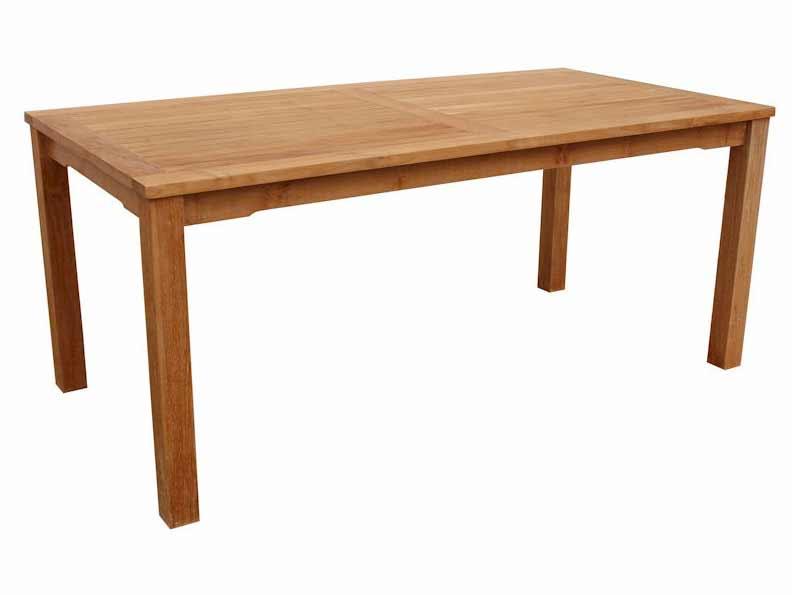 Stylish Teak Bahama Rectangular Dining Table Product Photo
