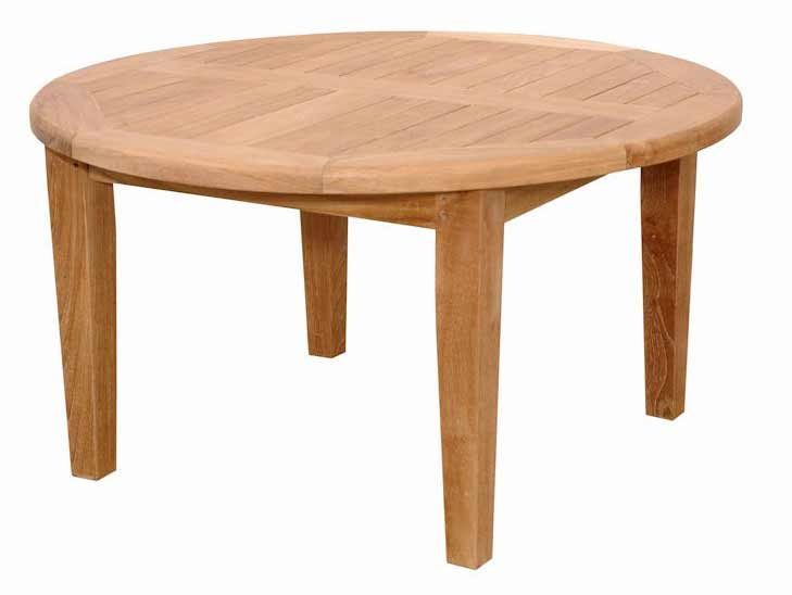 Unique Teak Brianna Round Coffee Table Product Photo